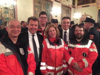 Gedenkgottesdienst und Staatsempfang für Helfer des Zugunglücks Bad Ailbing