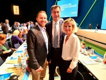 Zwei Vertreter aus der Region Rosenheim mit starken Stimmen in München