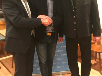 """Hochpolitische Diskussionen bei der Jahreshauptversammlung des CSUOrtsverbandes Aising Gasteiger: """"In der Stadt Rosenheim dürfen die notwendigen Infrastrukturmaßnahmen nicht vergessen werden"""""""