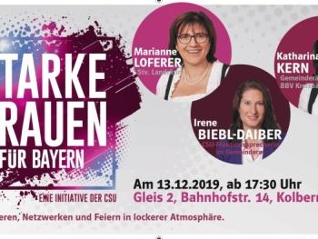 """""""Starke Frauen für die Kommunalpolitik"""" der Frauen Union in Kolbermoor"""