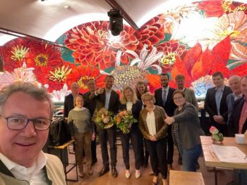 Führungswechsel bei der Mittelstands-Union Rosenheim-Land - Dr. Max von Bredow ist neuer Kreisvorsitzender