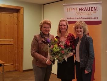 Generationenwechsel bei der Frauen Union Rosenheim-Land