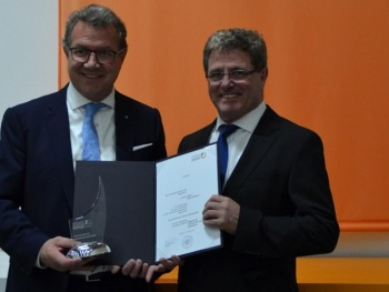 Landtagsabgeordneter und Kreisvorsitzender CSU Rosenheim-Land Klaus Stöttner nun Ehrensenator