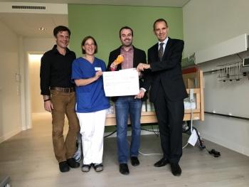 Junge Union (JU) unterstützt Kinderpalliativstation
