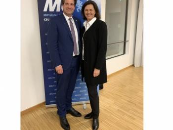 Dr. Thomas Geppert ist neuer Bezirksvorsitzender der Mittelstands-Union Oberbayern