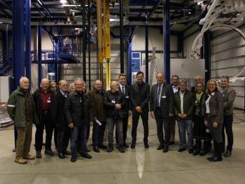 Betriebsbesuch der CSA Rosenheim am 29.01.2018 bei der Firma ROFA INDUSTRIAL AUTOMATION AG, Kolbermoor