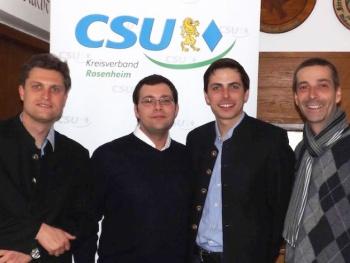 Ohne Glatze und Bierbauch - ein neues junges Team führt die CSU in Kiefersfelden