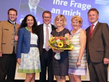Klaus Stöttner als Kreisvorsitzender wiedergewählt; CSU rückt Thema der inneren Sicherheit in den Fokus