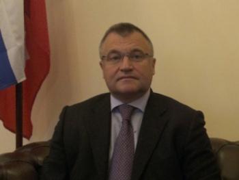 Einladung Vortrag: Dr. S. Pawlowitsch Ganzha, Generalkonsul der Russischen Föderation