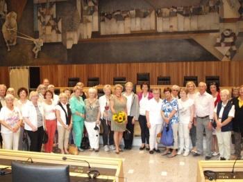 FU Rosenheim besucht Südtiroler Landtag in Bozen