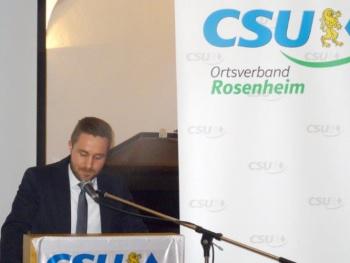 Wechsel bei der CSU Rosenheim Stadt sowie Ergebnisse der Wahl
