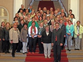 Katholischer Frauenbund Bruckmühl besuchte Otto Lederer im Bayerischen Landtag