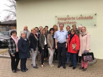 Frauenunion-Land zu Gast in der Integrierten Leitstelle in Rosenheim